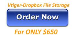 Integrating Vtiger with Dropbox Files Storage