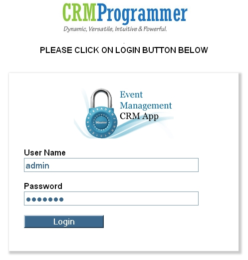 Event Management Business, Event Management CRM Software